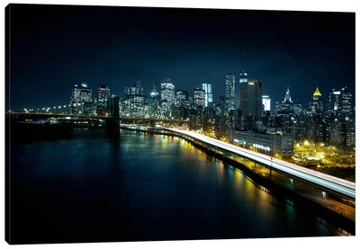 Gotham City II Canvas Art Print