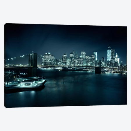Gotham City II Canvas Print #SDG50} by Sebastien Del Grosso Canvas Artwork