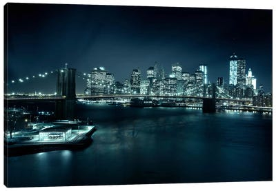 Gotham City II Canvas Art Print