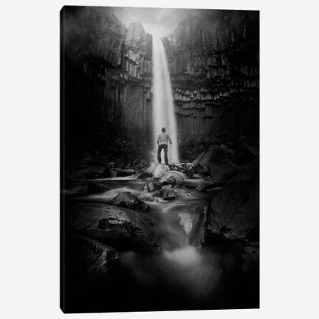 Into the light Canvas Print #SDG55} by Sebastien Del Grosso Art Print