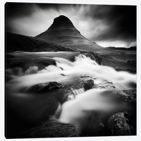 Kirkjufell I Canvas Print #SDG58} by Sebastien Del Grosso Canvas Wall Art