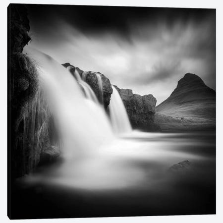 Kirkjufell III 3-Piece Canvas #SDG60} by Sebastien Del Grosso Canvas Print