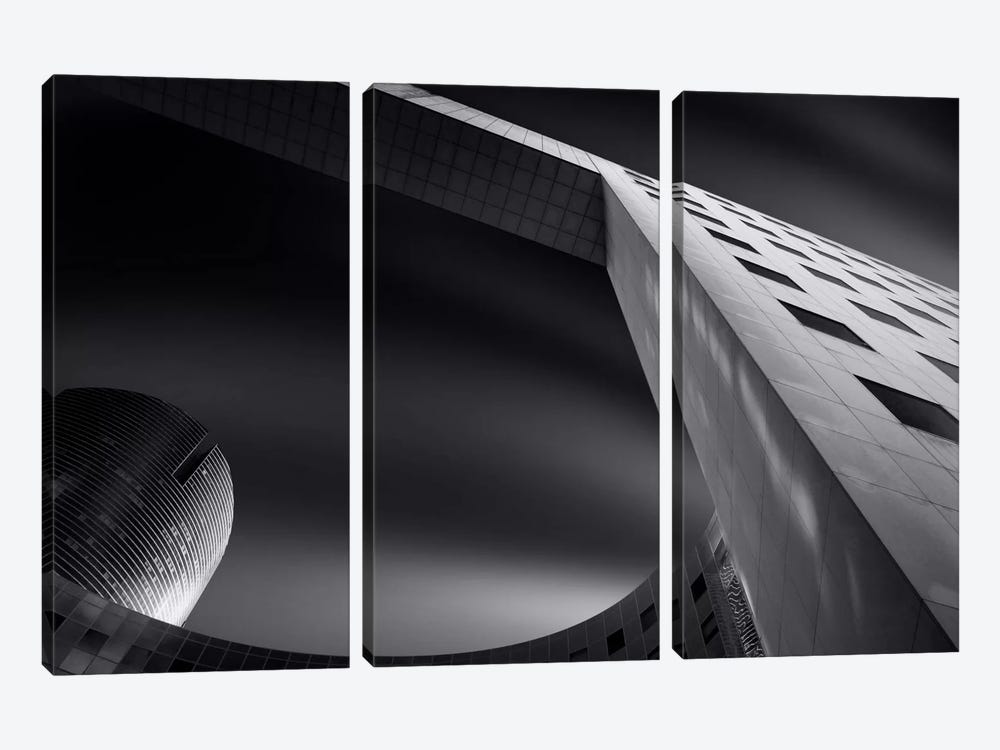 Lines & Curves III 3-piece Canvas Print