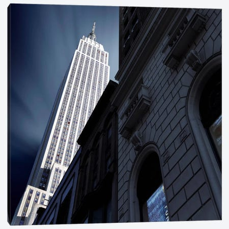 NYC Square I Canvas Print #SDG72} by Sebastien Del Grosso Canvas Artwork