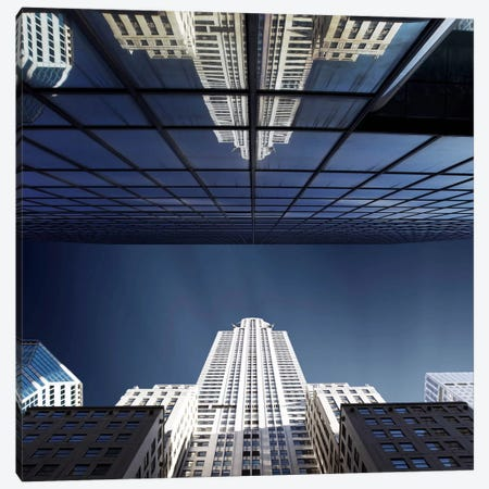 NYC Square II Canvas Print #SDG73} by Sebastien Del Grosso Canvas Wall Art