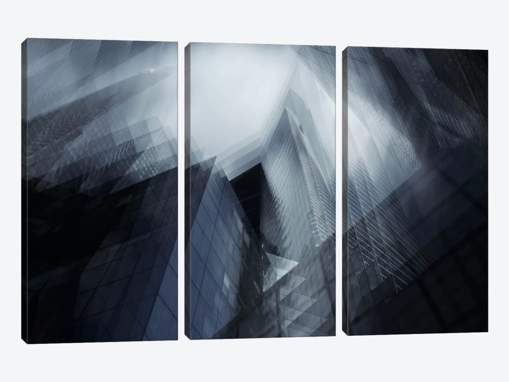 Parallel I 3-piece Canvas Print