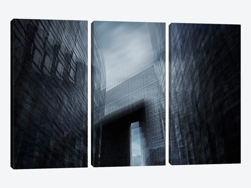 Parallel III 3-piece Canvas Print