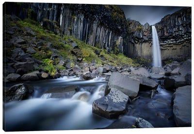 The Dark Waterfall II Canvas Print #SDG94