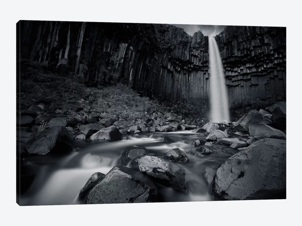 The Dark Waterfall I by Sebastien Del Grosso 1-piece Art Print