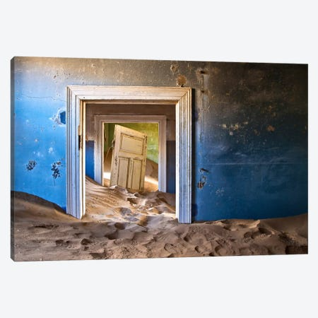The Ghost Town Canvas Print #SDG98} by Sebastien Del Grosso Canvas Art