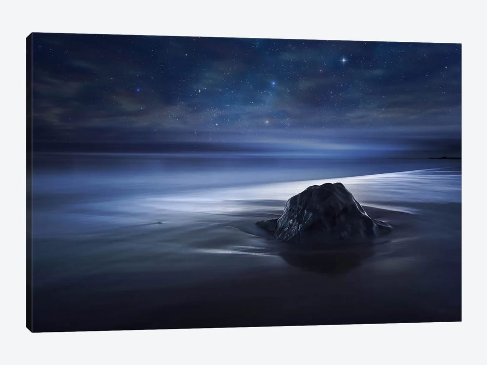 Blue Velvet II by Sebastien Del Grosso 1-piece Canvas Art