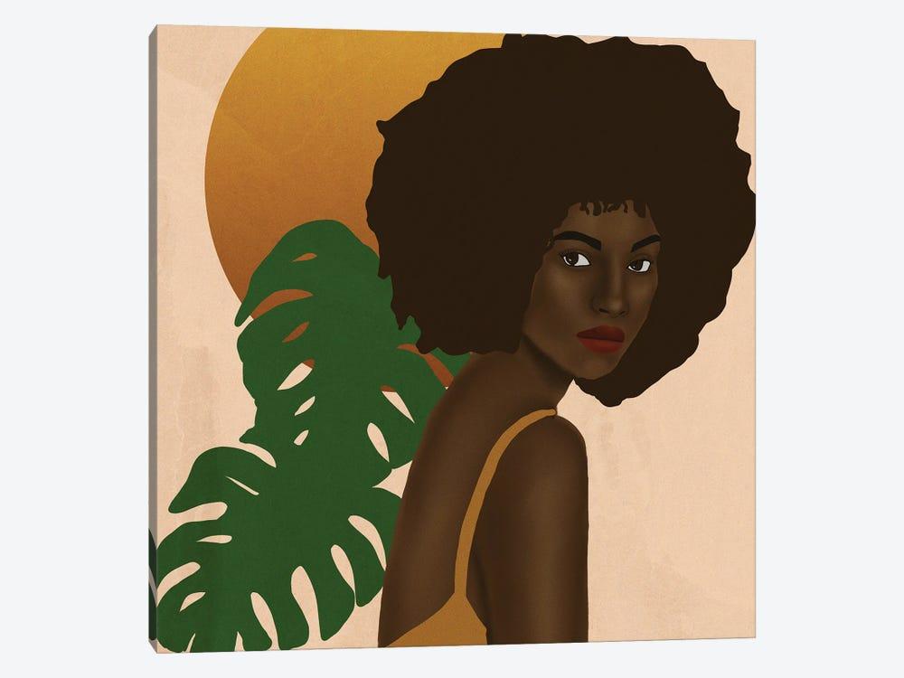 Girl In The Sun by Sarah Dahir 1-piece Canvas Wall Art