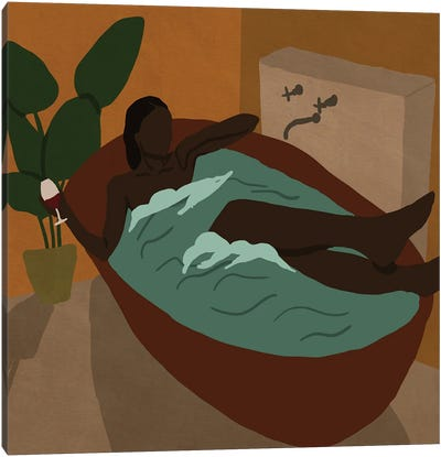 Self Care Canvas Art Print