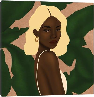 Blonde Canvas Art Print