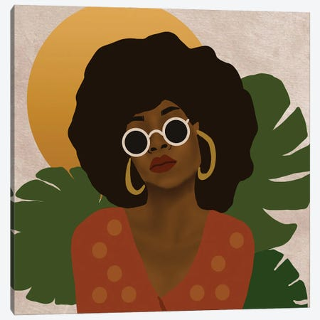 Easy Livin Canvas Print #SDH15} by Sarah Dahir Canvas Wall Art