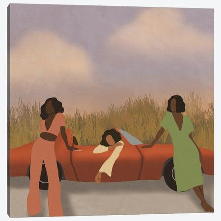 Vacay Canvas Print #SDH1} by Sarah Dahir Canvas Artwork