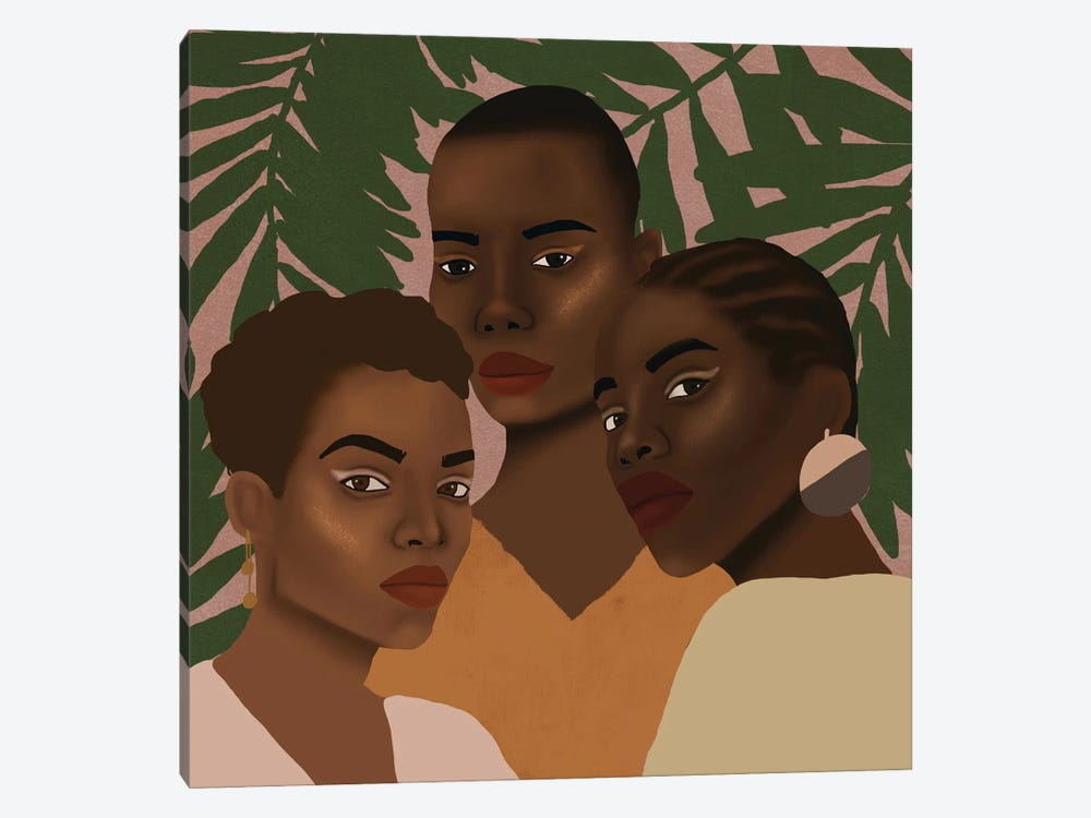 The Girls by Sarah Dahir 1-piece Canvas Print