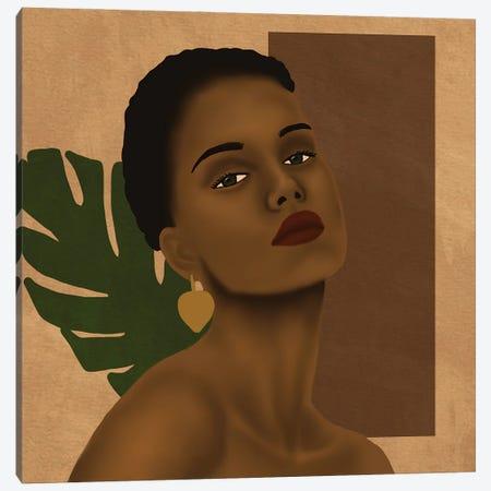 Simplicity Canvas Print #SDH28} by Sarah Dahir Canvas Artwork