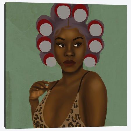 Cherry Cola Canvas Print #SDH30} by Sarah Dahir Art Print