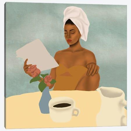 Breakfast Canvas Print #SDH37} by Sarah Dahir Canvas Wall Art