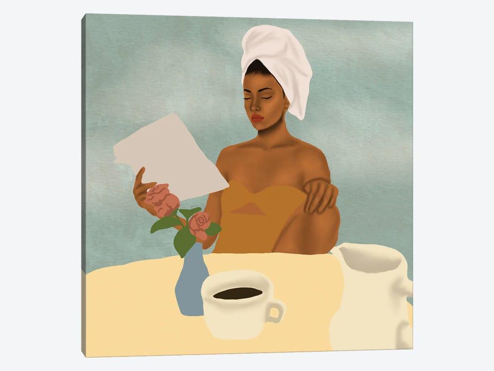 Breakfast by Sarah Dahir 1-piece Canvas Art Print
