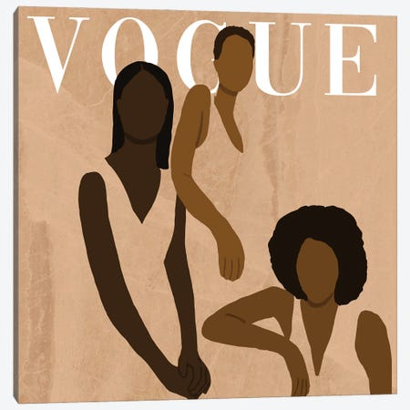 Vogue Challenge 2 Canvas Print #SDH39} by Sarah Dahir Art Print
