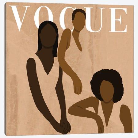 Vogue Challenge 2 Canvas Print #SDH39} by Sarah Dahir Art Print