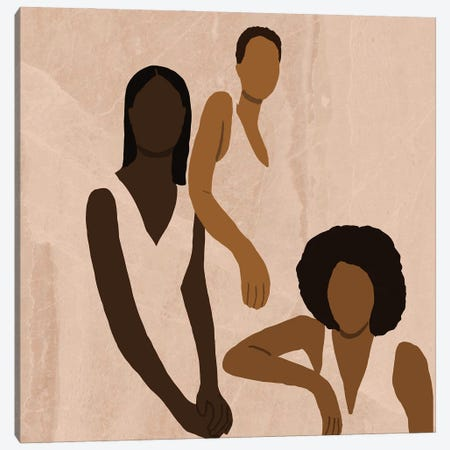 Stronger Together Canvas Print #SDH4} by Sarah Dahir Canvas Print
