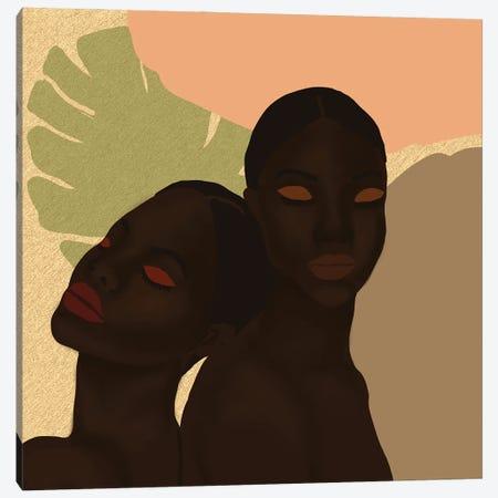 Twins Canvas Print #SDH60} by Sarah Dahir Canvas Art