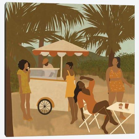 Orange Canvas Print #SDH80} by Sarah Dahir Canvas Art