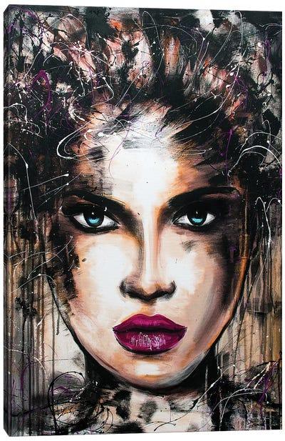 Kat Canvas Art Print