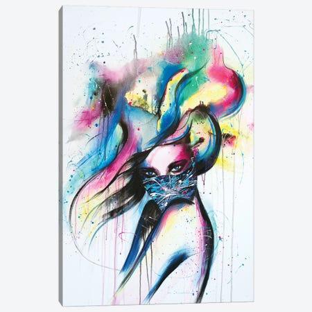 Maskquerade Canvas Print #SDI11} by Studio Edin Canvas Art