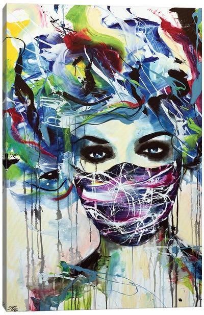 Silence Canvas Art Print