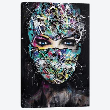The Mask Canvas Print #SDI17} by Studio Edin Art Print