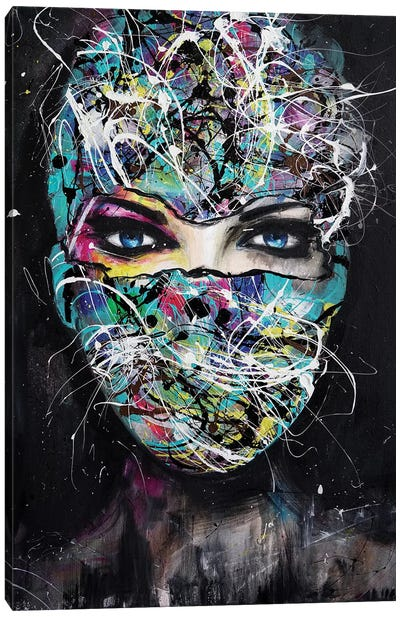The Mask Canvas Art Print