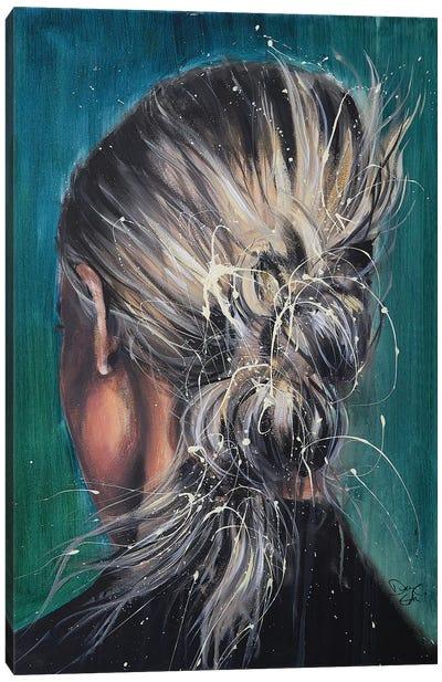 Behind Canvas Art Print
