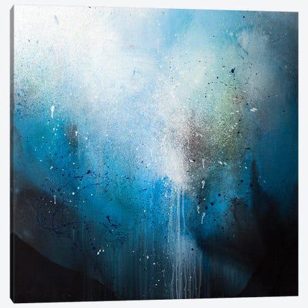 Blue Canvas Print #SDI4} by Studio Edin Canvas Wall Art
