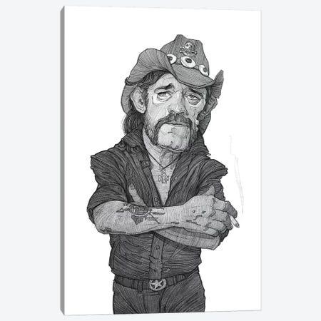 Lemmy Canvas Print #SDM10} by Stavros Damos Canvas Artwork
