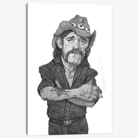 Lemmy Canvas Print #SDM10} by Stavros Damos Canvas Artwork