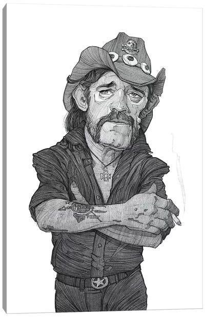 Lemmy Canvas Art Print