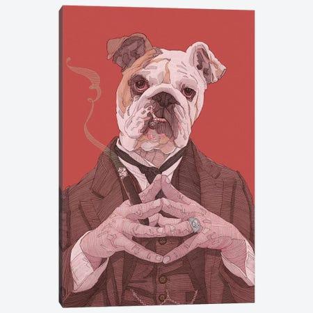 The Boss Canvas Print #SDM17} by Stavros Damos Art Print