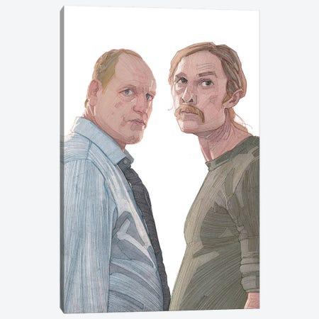 True Detective Canvas Print #SDM18} by Stavros Damos Canvas Wall Art