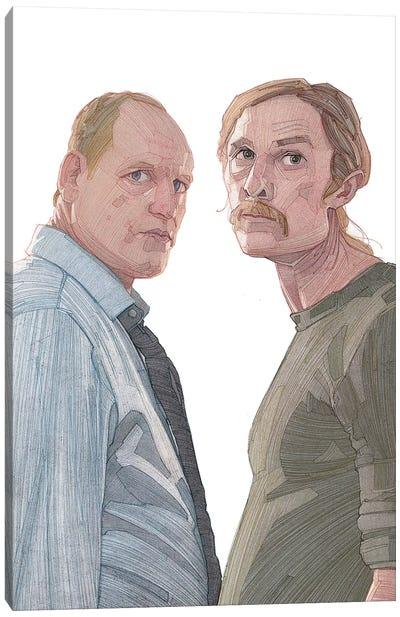 True Detective Canvas Art Print
