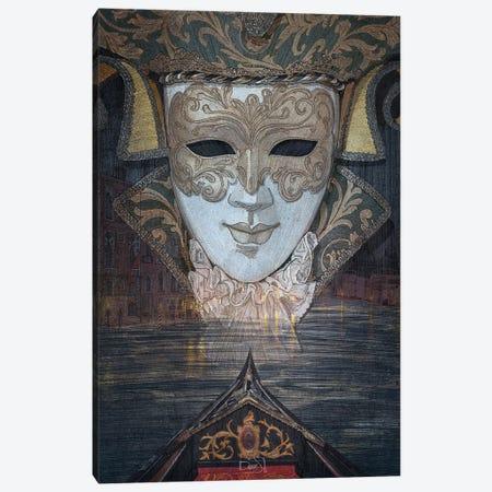 Venice Canvas Print #SDM19} by Stavros Damos Canvas Wall Art