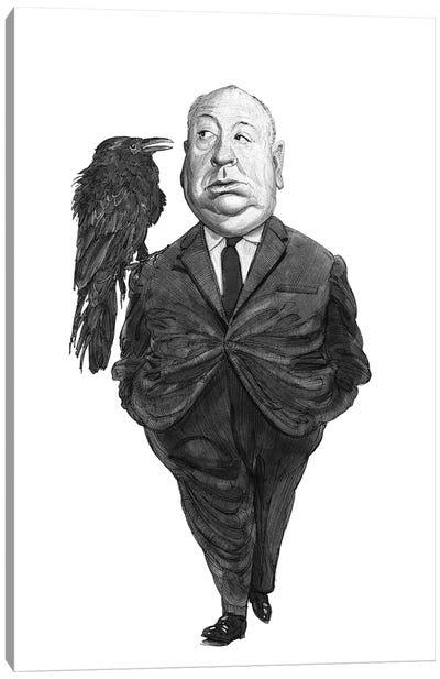 Alfred Hitchcock Canvas Art Print