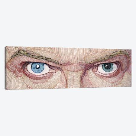 David Bowie Eyes Canvas Print #SDM2} by Stavros Damos Canvas Print