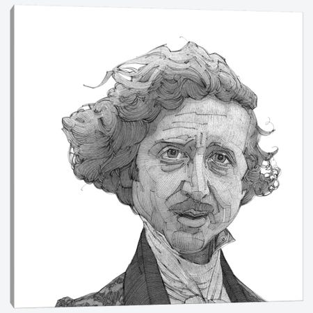 Gene Wilder Canvas Print #SDM3} by Stavros Damos Canvas Print