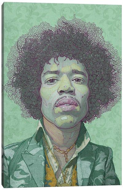 Hendrix Canvas Art Print