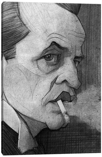 Klaus Kinski Canvas Art Print