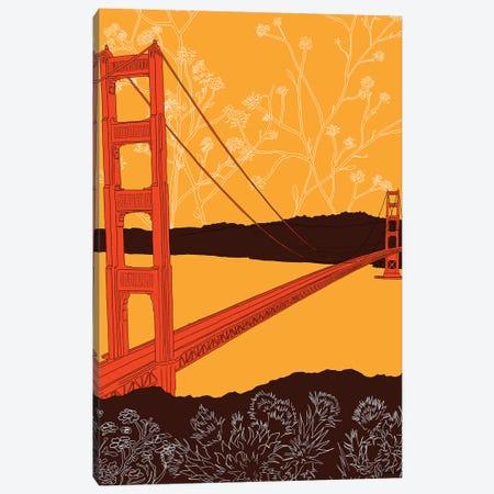 Golden Gate Bridge - Headlands Canvas Print #SDN2} by Shane Donahue Canvas Artwork